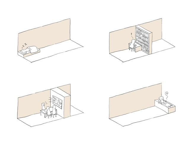 Drawer House Nendo