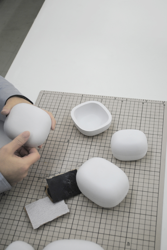 Lacquered Paper Objects Nendo