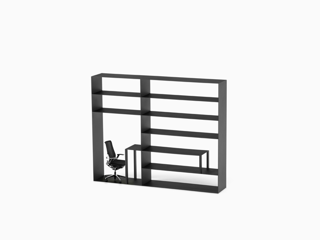 shelf+desk+chair=office02_hiroshi_iwasaki