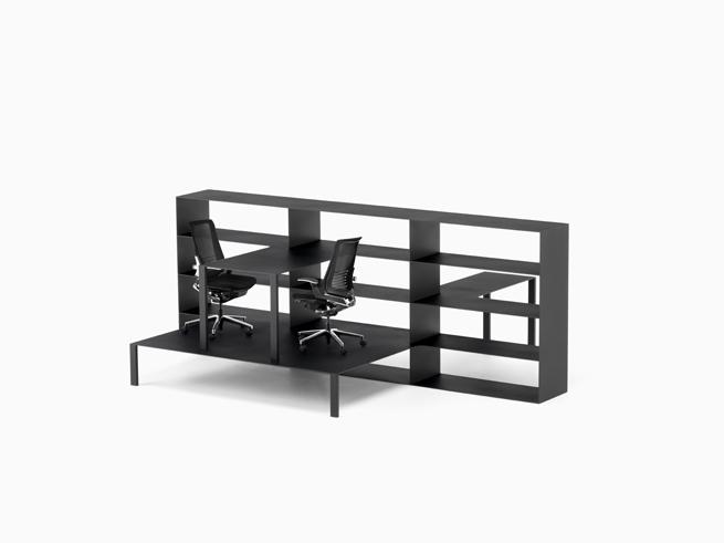 shelf+desk+chair=office09_hiroshi_iwasaki