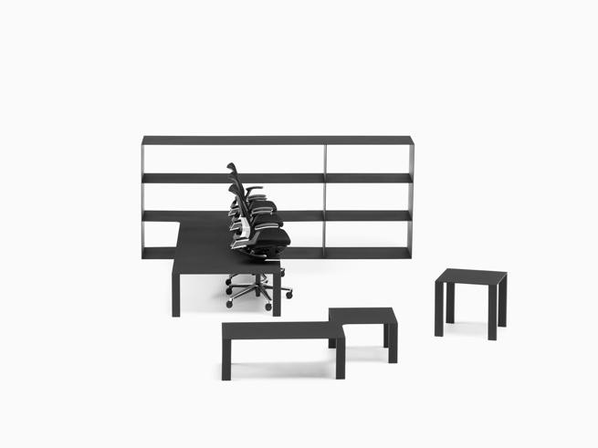 shelf+desk+chair=office19_hiroshi_iwasaki
