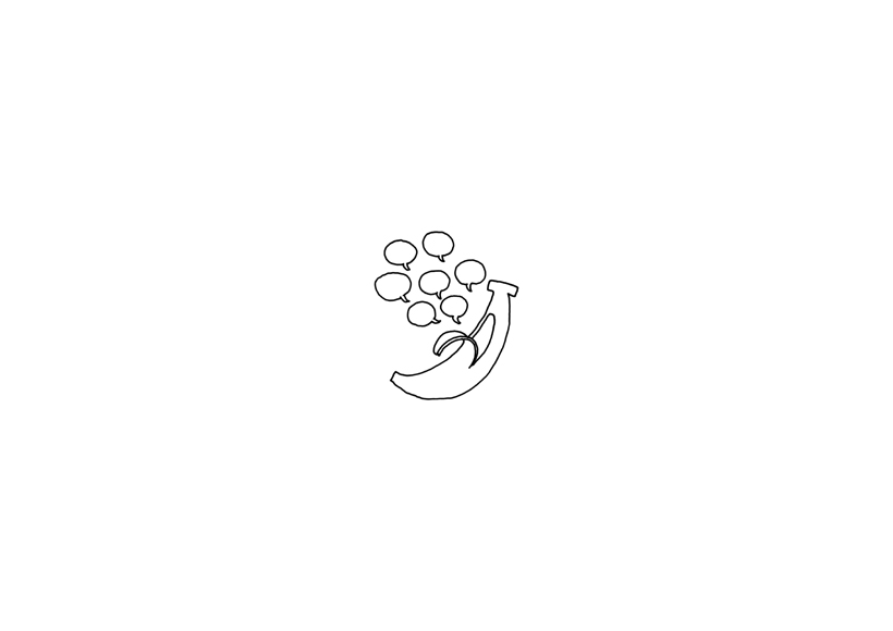 shiawase_banana_sketch